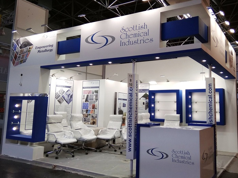 Exhibition Stall Designing, Exhibition Booth Construction